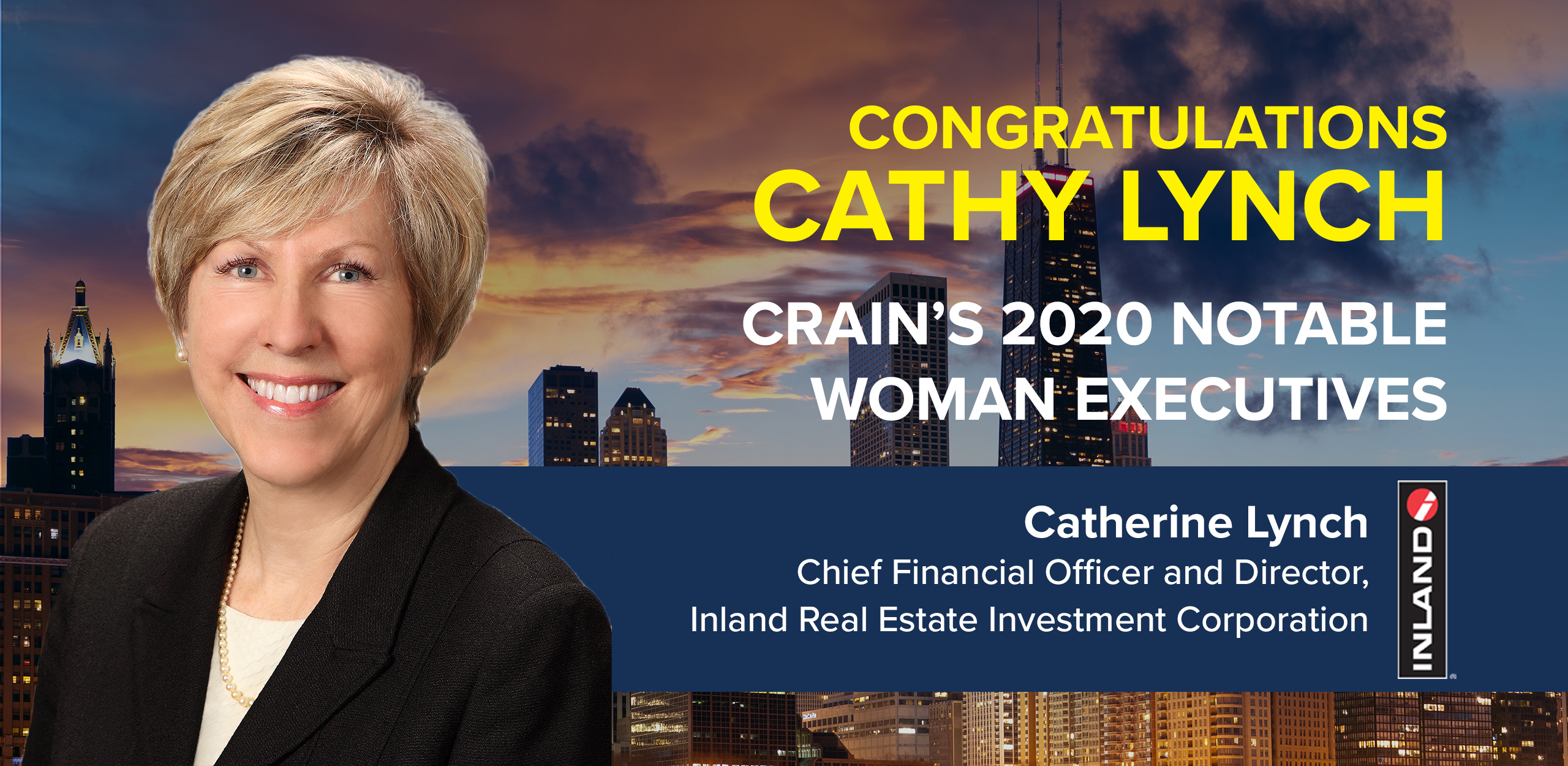 Cathy Lynch Crain's Notable Women Executives 2020