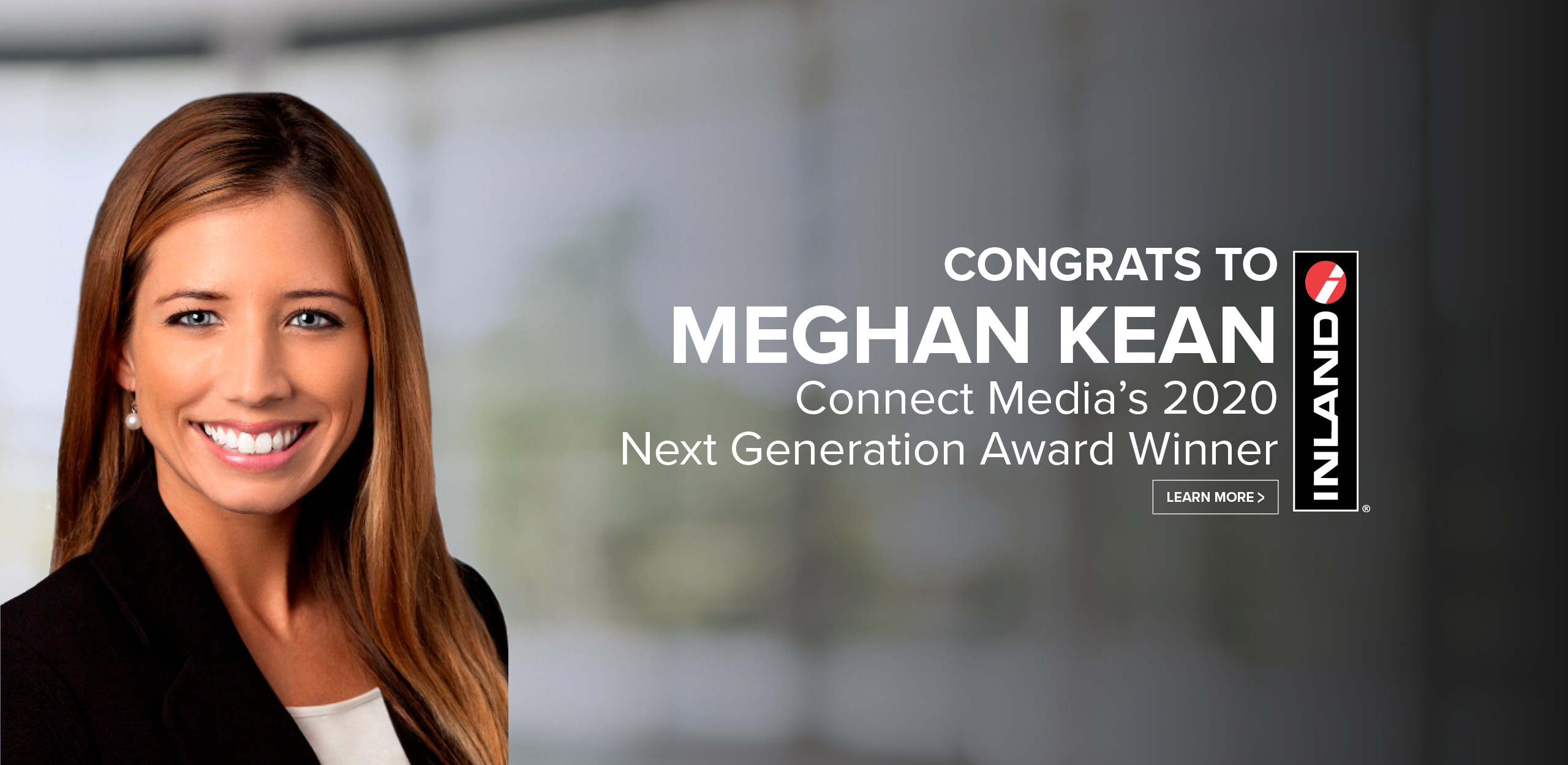 Meghan Kean Connect Media Next Gen Award