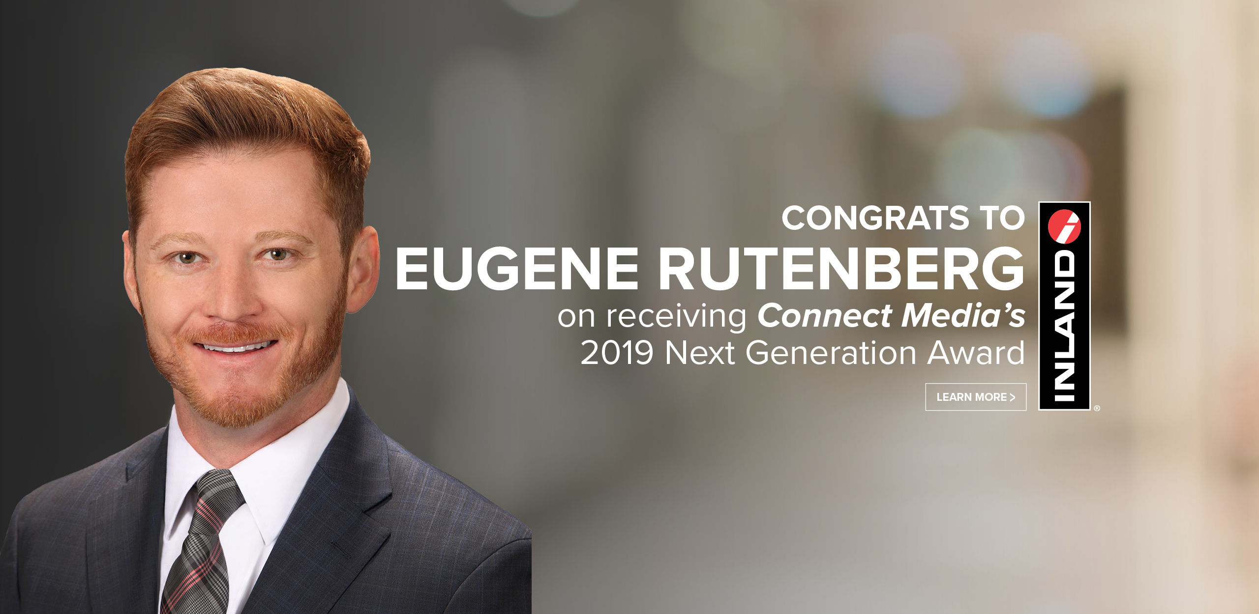Connect Media Next Gen Award - Eugene Rutenberg