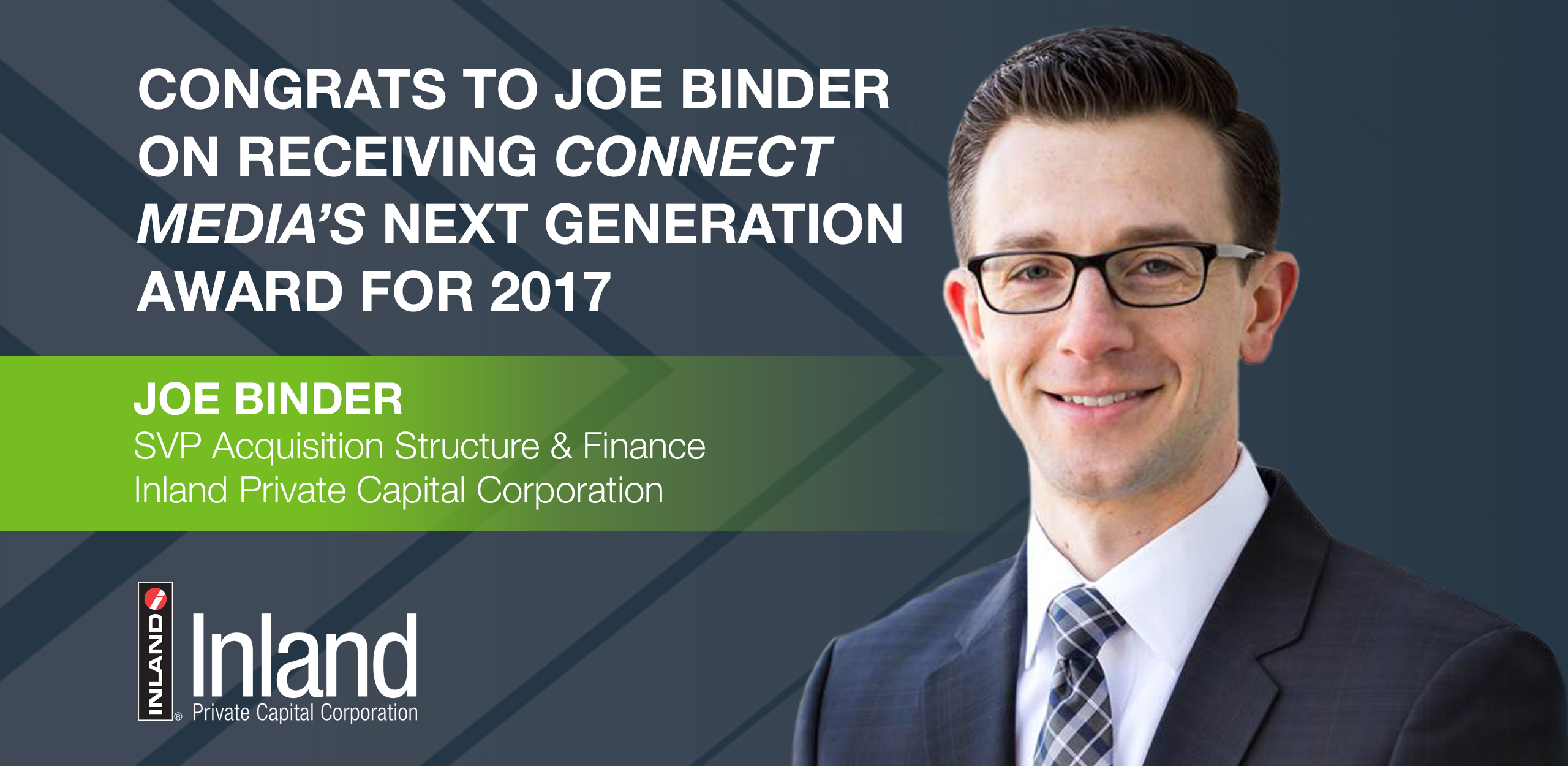 Joe Binder Next Generation Award