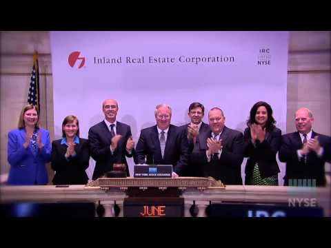Video of Inland Real Estate Corporation Marks 10 Years of Trading on the NYSE